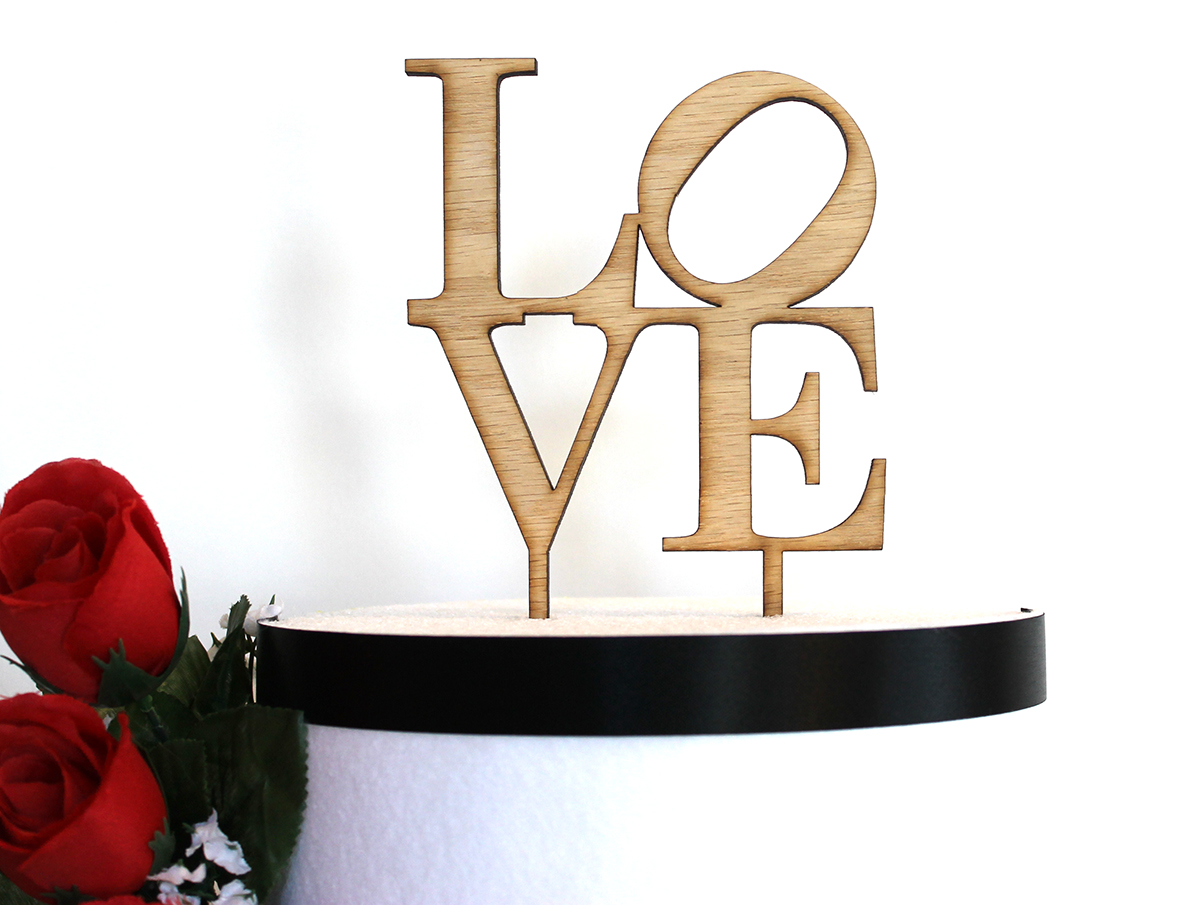 Love Philly Cake Topper